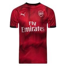 Arsenal Tränings T-Shirt Graphic - Röd/Navy