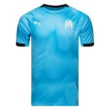 Marseille Tränings T-Shirt Graphic - Blå/Svart