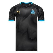 Marseille Tränings T-Shirt Graphic - Svart/Blå