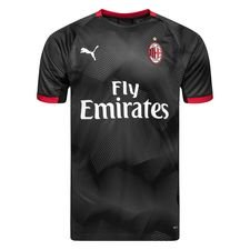 Milan Trainingsshirt Graphic - Zwart/Grijs