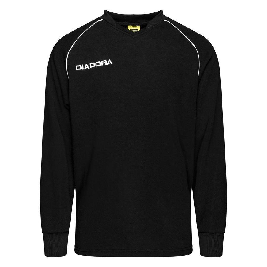 Diadora Træningstrøje Madrid - Sort/Hvid Børn