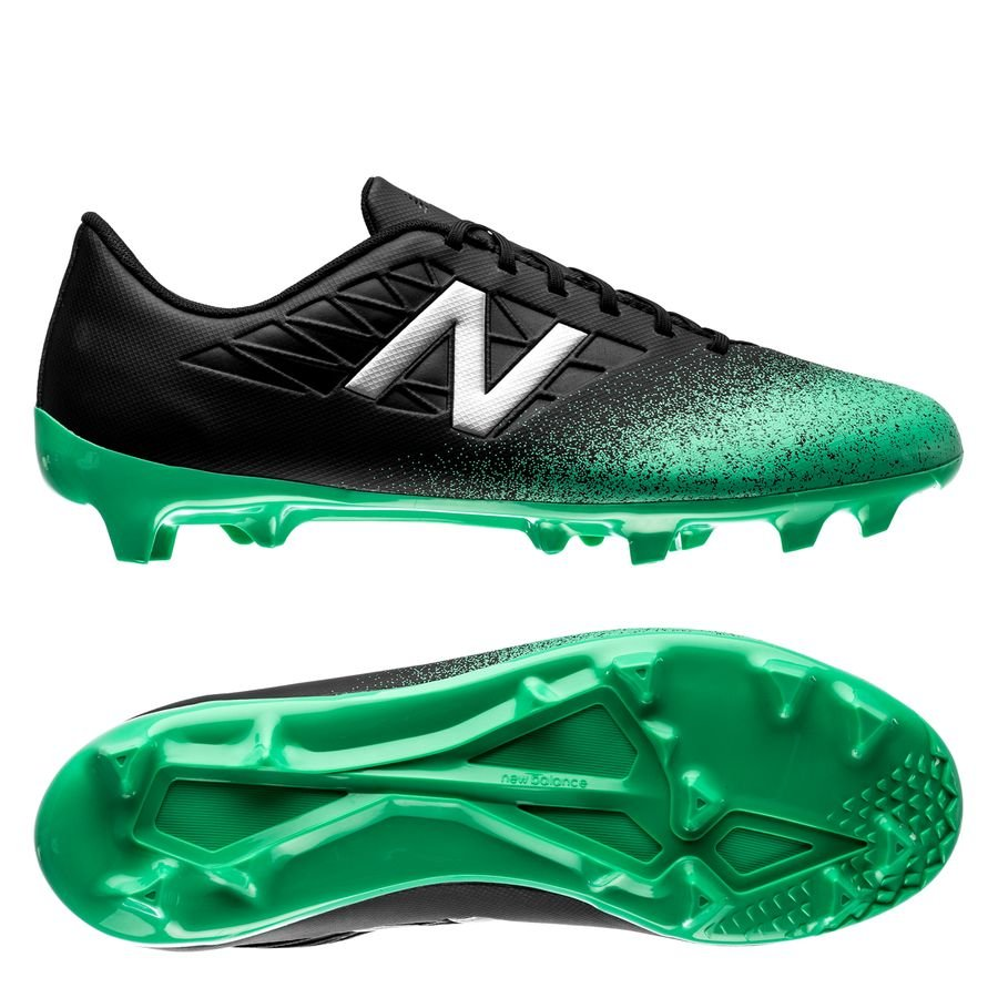 New Balance Furon 5.0 Dispatch FG - Neon Emerald/Black Kids