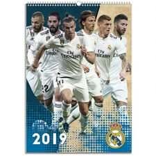 Real Madrid Calendar 2019