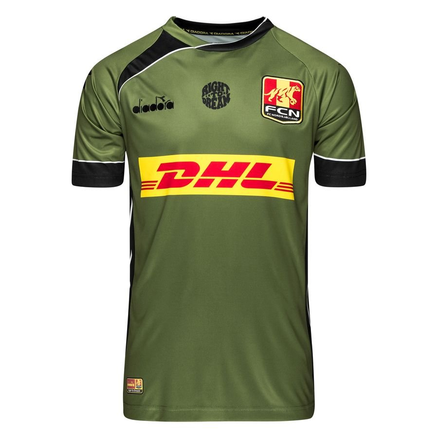 F.C. Nordsjælland Udebanetrøje 2018/19