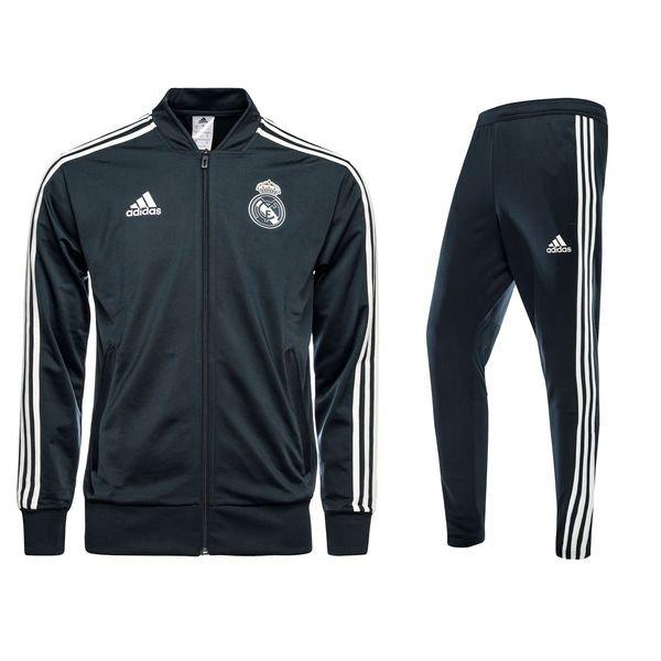 promo code 75923 62c3b Real Madrid Presentation Kit - Black/Blue/White Kids   www ...