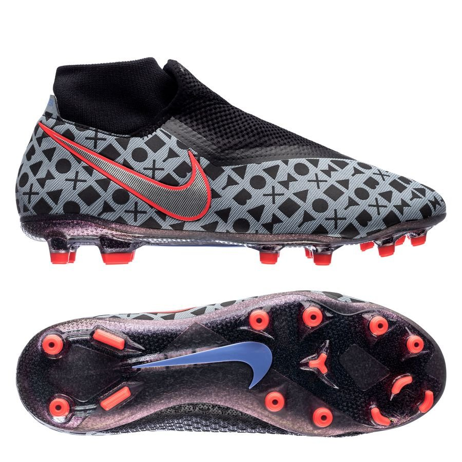 Nike Phantom Vision Academy DF MG- Lilla/Sort