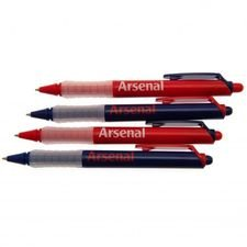 Arsenal Pennor Pennor 4-pack - Blå/Röd