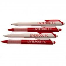 Liverpool Pennor Pennor 4-pack - Vit/Röd