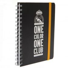 real madrid notesbog - sort - merchandise