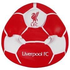 Liverpool Uppblåsbar Stol - Röd/Vit