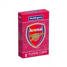 Image of   Arsenal Spillekort - Rød/Hvid