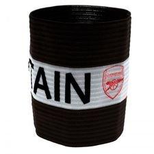 Arsenal Kaptensbindel - Svart/Vit