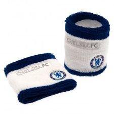 Chelsea Svettband 2-Pack - Vit/Blå