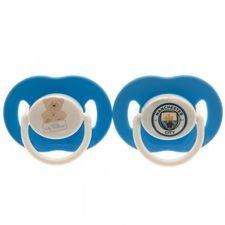 Manchester City Schnuller - Blå/Vit