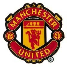 Manchester United Kylskåpsmagnet 3D - Röd