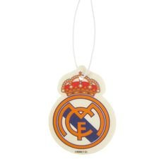 Real Madrid Luftfräschare Logo - Vit/Guld