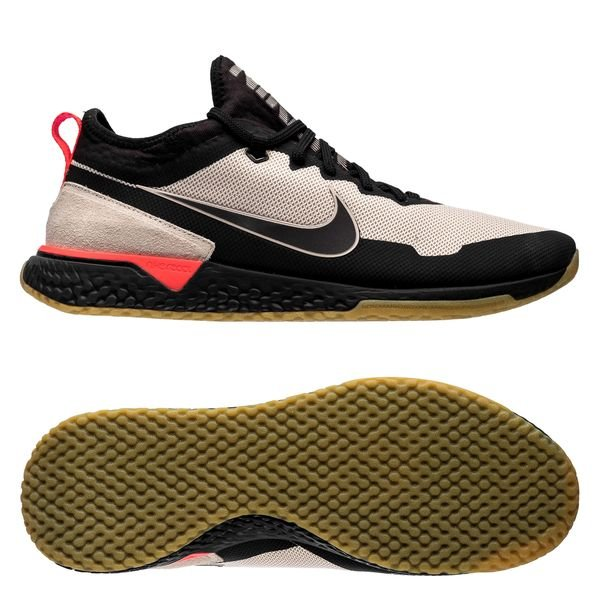 factory price detailed pictures elegant shoes Nike F.C. React Sneaker - Beige/Schwarz/Rot LIMITED EDITION