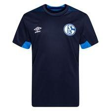 Schalke 04 Tränings T-Shirt - Navy/Blå Barn