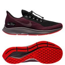 4c32f6d5d366 Nike Running Shoe Air Zoom Pegasus 35 Shield - Black Metallic Silver …