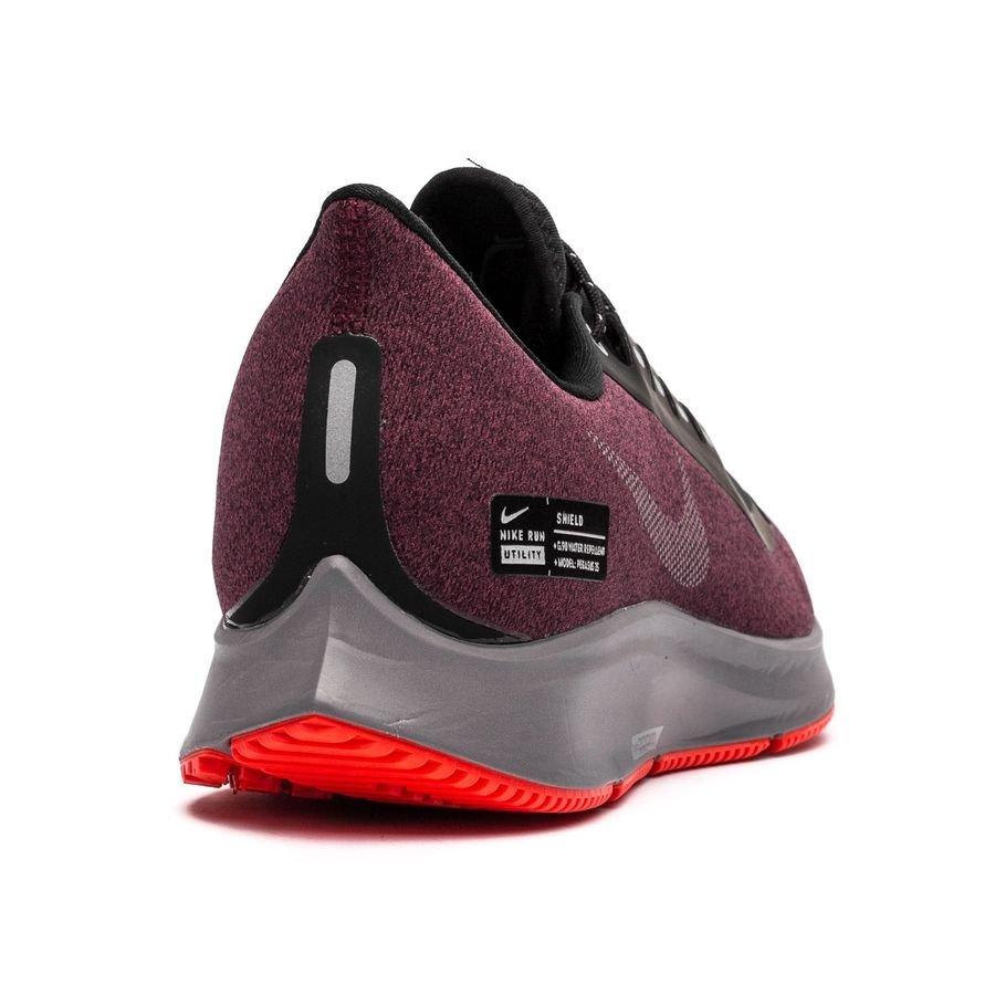 Nike Laufschuhe Air Zoom Pegasus 35 Shield SchwarzSilberBordeaux