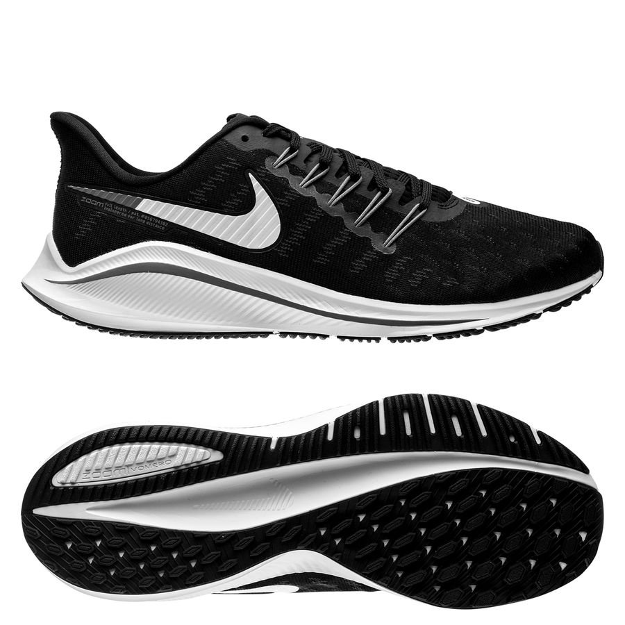 huge discount 7356d f964b nike air zoom vomero 14 - black white thunder grey - running shoes ...