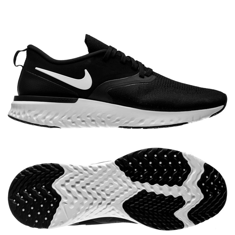 buy online 167e4 86094 nike odyssey react 2 flyknit - blackwhite - running shoes ...