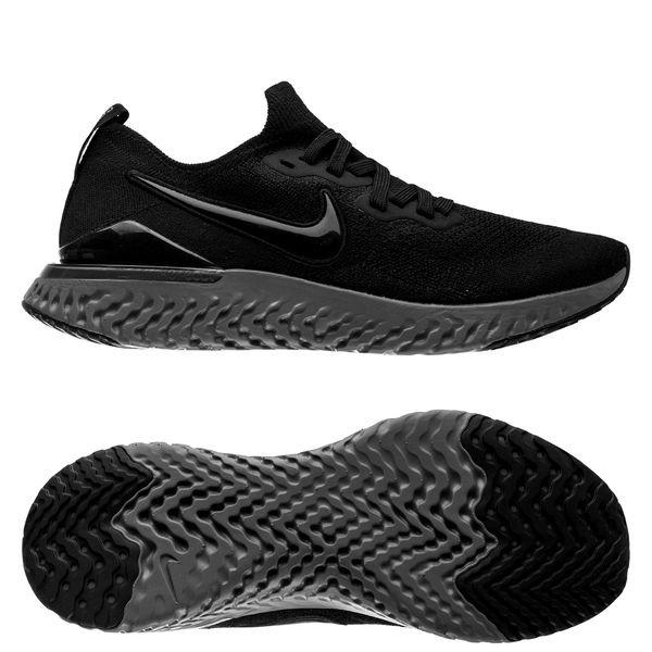 Nike Running Shoe Epic React Flyknit 2 - Black/Gunsmoke