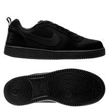 Nike Court Borough Low – Zwart Kinderen