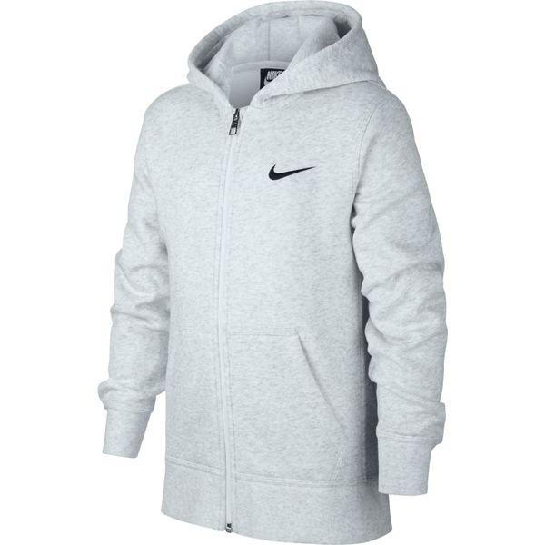 b8e7f249d94 Nike Hoodie FZ YA76 Fleece - Grijs/Zwart Kinderen | www.unisportstore.nl
