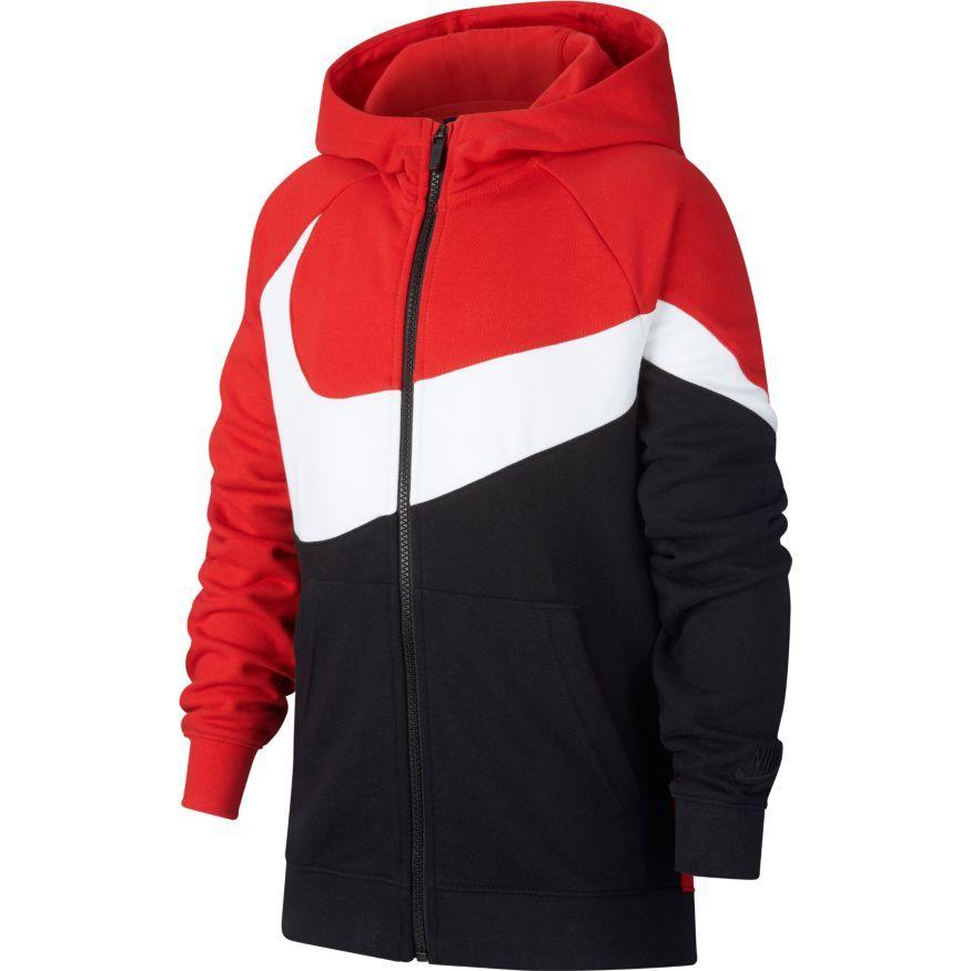 Nike Hoodie FZ NSW - University Red