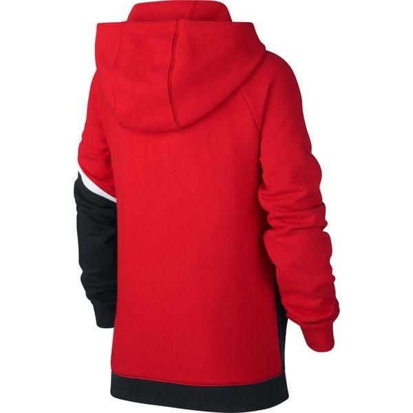 7c9c022b9 Nike Hoodie FZ NSW - University Red/Black/White Kids | www ...