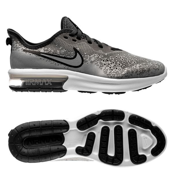 Nike Air Max Sequent 4 GrisGrisBlanc Enfant | www