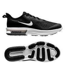 Nike Air Max Sequent 4 – Zwart/Wit Kinderen