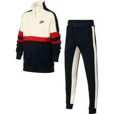 Nike Trainingspak Air - Zwart/Wit/Rood Kinderen
