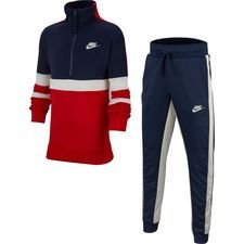 Nike Trainingspak Air - Rood/Navy Kinderen
