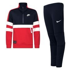 Nike Trainingspak Air - Rood/Navy Kinderen