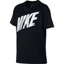Nike Dry T-shirt – Zwart/Grijs Kinderen