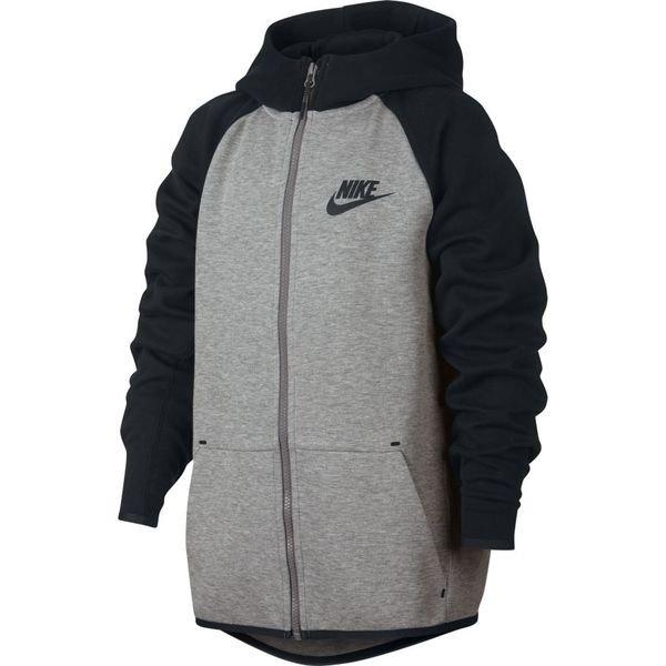 Nike Sweat à Capuche Tech Fleece Essentials FZ GrisNoir Enfant