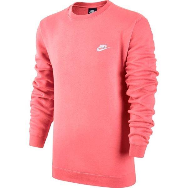 size 40 3a880 4bb40 Nike Sweatshirt NSW Crew Fleece - Rosa/Vit