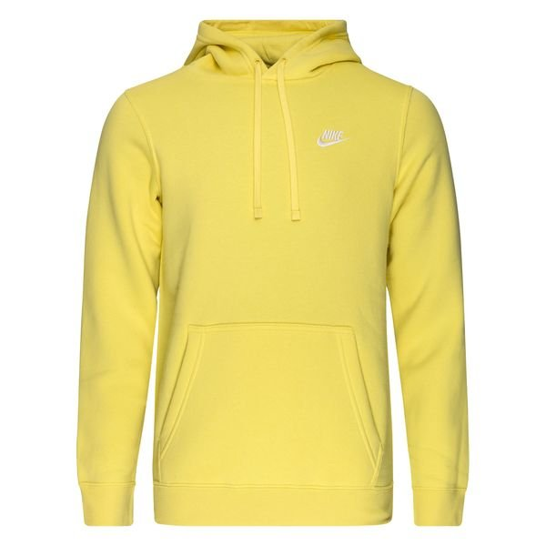 sweat a capuche jaune nike
