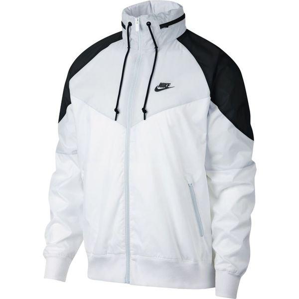 Nike Veste à Capuche FZ NSW Windrunner BlancGrisNoir