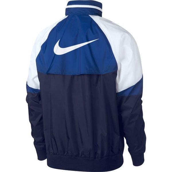 Weiß blaue Nike windbreaker