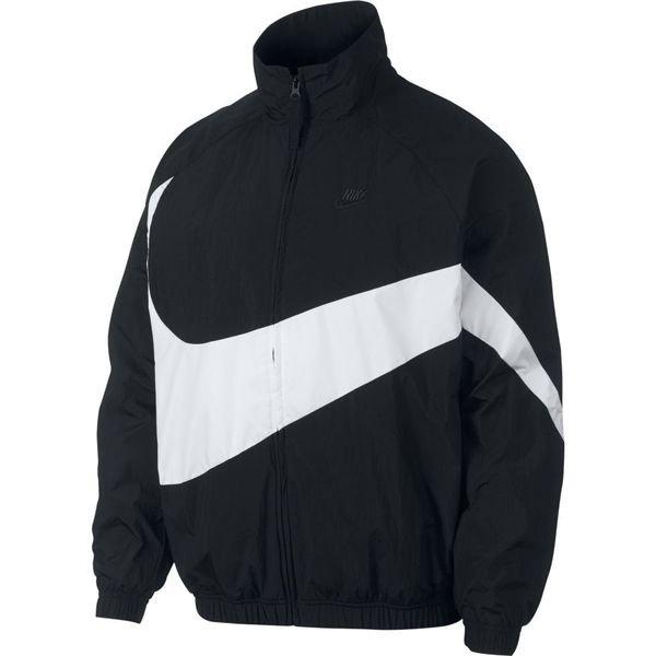 Nike Jakke NSW Woven SortHvid