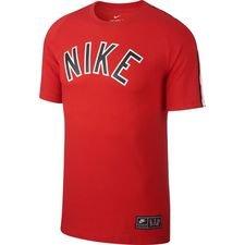 nike t-shirt nsw air - rød - t-shirts