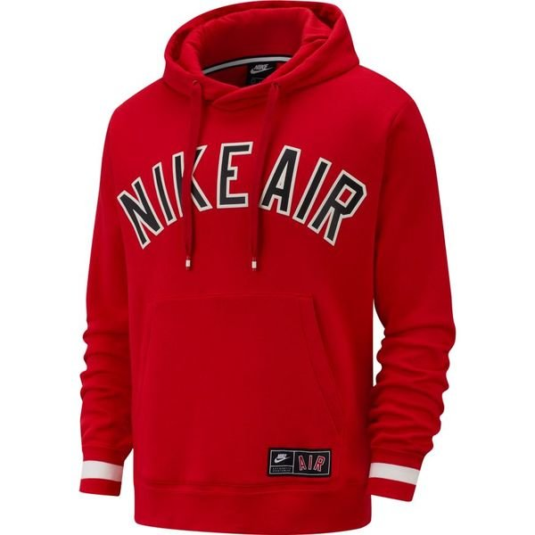 Nike Sweatshirt NSW Air Fleece Rood | unisportstore.nl
