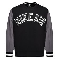 Nike Sweatshirt NSW Air Fleece - Schwarz/Grau
