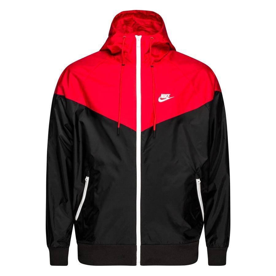 Nike Jakke Windrunner NSW HD - Sort/Rød/Hvid thumbnail