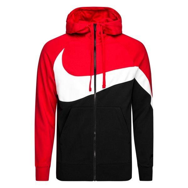 la meilleure attitude 91196 83576 Nike Veste à Capuche FZ NSW - Rouge/Noir/Blanc