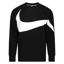 nike sweatshirt nsw - sort/hvid - sweatshirts