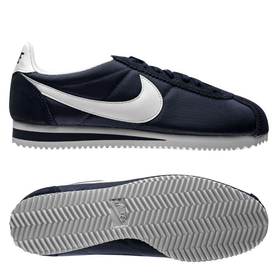 huge discount ed4ca 051b9 nike classic cortez plånbok - navyvit dam - sneakers ...